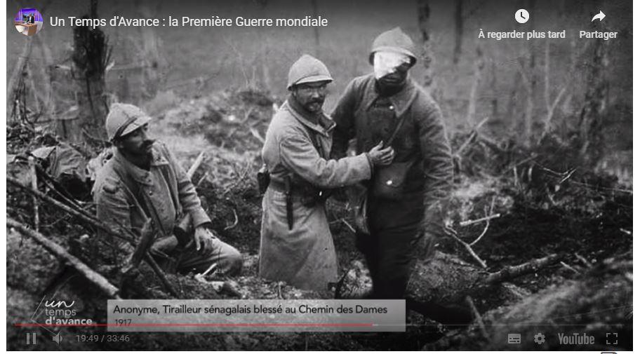 Un temps d'avance – la première guerre mondiale