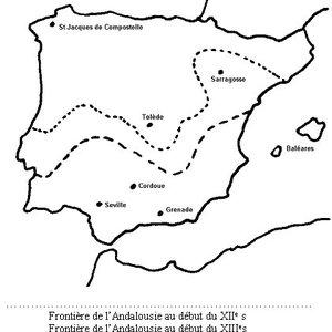 L'Andalousie au XII°.